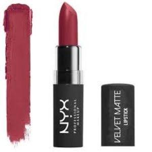 NYX Velvet Matte Lipstick in VMLS05 Volcano